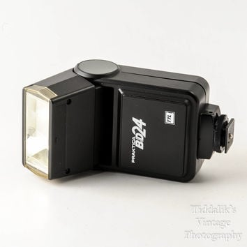 Praktica BD24 Dedicated TTL Bounce Vintage Flash for Film Cameras - Very Good Working Condition