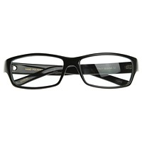 Classic European Designer Optical Clear Lens Glasses 2948