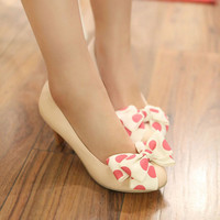 Polka dot medium size Heels