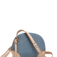 Denim Dome Crossbody | Banana Republic