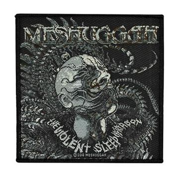 Meshuggah Sew On Patch Violent Sleep of Reason Logo