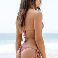 ACACIA SWIMWEAR - Polihale Crochet Bottom | Orchid