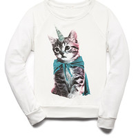Unicorn Kitty Top (Kids)