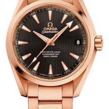 Omega - Seamaster Aqua Terra 150 M Master Co-Axial 38.5 mm - Red Gold