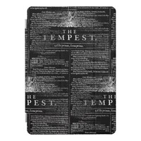 The Tempest Shakespeare Play iPad Case