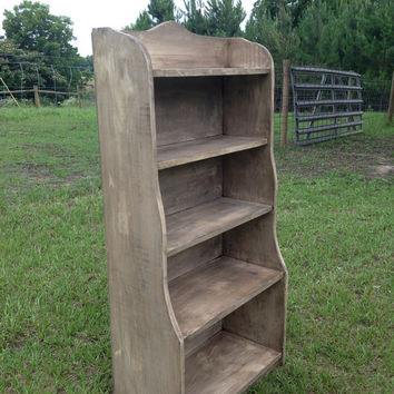 "Hopewell Nursery Bookcase - 48"" Tall and 24"" Wide - Antique Finish"