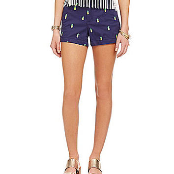 Freestyle Embroidered Icon Shorts | Dillards.com