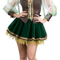 Sexy Super Deluxe Robin Hood Costume - Medieval and Renaissance Costumes