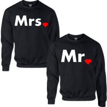 MR. MRS. COUPLE SWEATSHIRT