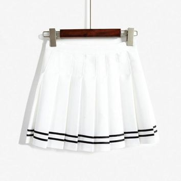 Fashion Casual Ruffle High Waist Skirt