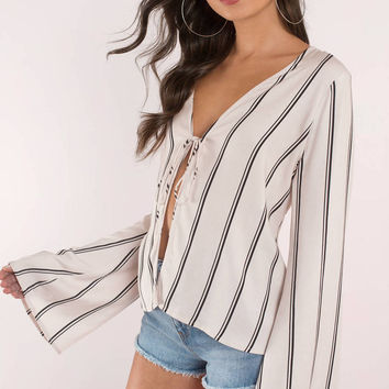 Saved By The Bell Sleeve Blouse