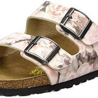 Birkenstock Women's Arizona 2-Strap Cork Footbed Sandal - Narrow Pink 41 N EU sale  sandals  mayari  arizona  promo boston cheap
