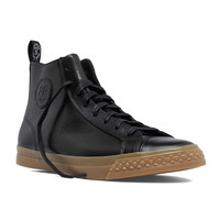 PF Flyers Perforated Rambler High in Black