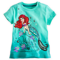 Disney Ariel Tee for Girls - Deluxe Storytelling | Disney Store