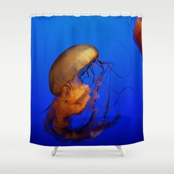 Jellyfish Shower Curtain by UMe Images