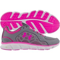 Under Armour Women's Assert IV Running Shoe - Grey/Pink | DICK'S Sporting Goods