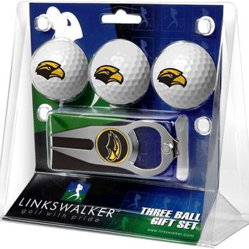 Southern Mississippi Eagles 3 Ball Gift Pack with Hat Trick Divot Tool