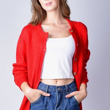 ECH Vintage Pendleton Red Cardigan