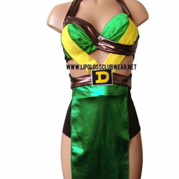 Ninja Turtle Inspired One Piece Costume, Rave Costume Outfit For EDC, Ultra Music, EDM Festivals, Tomorrowland PLUR Listing