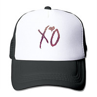 Xo Weeknd Cap Hats Meshback Adjustable Hat 1 Size Black