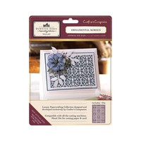 Crafters Companion Downton Abbey - Metal Die - Ornamental Screen  ***  Only One Left
