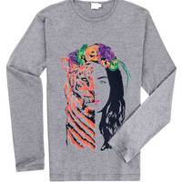 Katy Perry - ROAR Eye Of The Tiger for Long Sleeved Mens and Long Sleeved Girls T Shirt