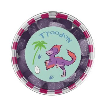 Cute Troodon Chewing Gum Favors