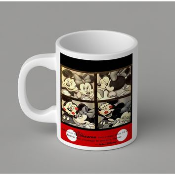 Gift Mugs | Micky Minnie Ceramic Coffee Mugs