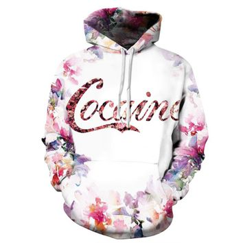 New Fashion Sweatshirts Men Women Hooded Hoodies Strickland Propane Cocaine Flower 3d Print Pullovers Hoody Outerwear