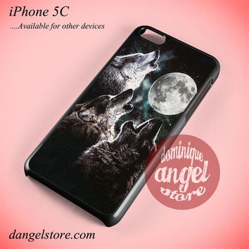 Mountain's Three Wolf Moon Phone case for iPhone 5C and another iPhone devices