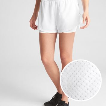"""GapFit 5"""" Perforated Double-Layer Shorts