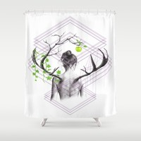 Grow Shower Curtain by eDrawings38