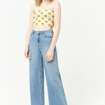 Smiley Face Tube Top