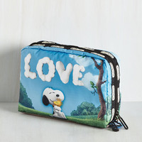 Travel Character Package Makeup Bag by LeSportsac from ModCloth