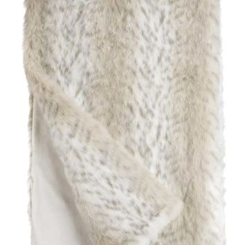 Lynx *Limited Edition* Faux Fur Throw Blanket by Fabulous Furs