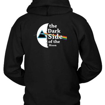 CREYH9S Pink Floyd The Dark Side Of The Moon Hoodie Two Sided