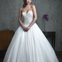 Allure Couture C303 Ball Gown Wedding Dress