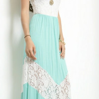 All The Ways To My Heart In Mint Maxi
