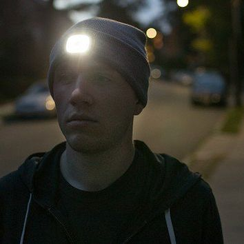 X-Cap | Lighted Knit Hat