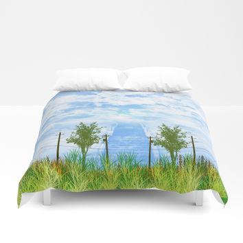 another way Duvet Cover by Berwies