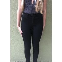 Free People Skinny Jeans- Black