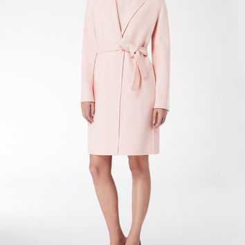 Wool and cashmere coat, pink - HANS Max Mara