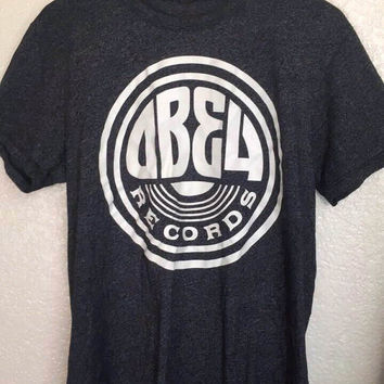 Vintage ABBA Records tee