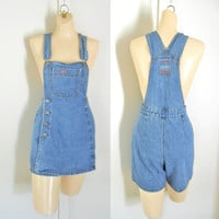 Overalls Women Shortalls Women Overall Dress 90s Denim Dress Overall Skirt Bib Overall Shorts Over Alls Dungarees Salopette Femme Over Alls
