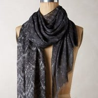 Velten Scarf by Anthropologie Grey Motif One Size Scarves