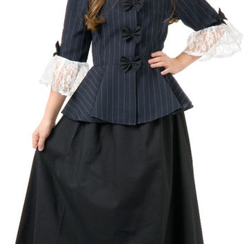 Colonial Girl Child Costume - Small (6-8)