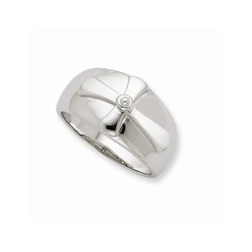 Sterling Silver Purity Mens Ring