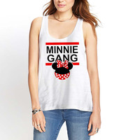 Disney Inspired Mickey Gang and Minnie Gang women Womens Tank Top *