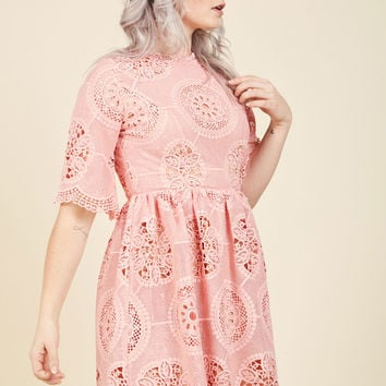 Lovably Ladylike Lace Dress | Mod Retro Vintage Dresses | ModCloth.com