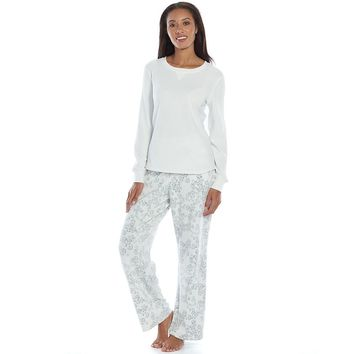 Croft & Barrow Pajamas: Microfleece Pajama Top